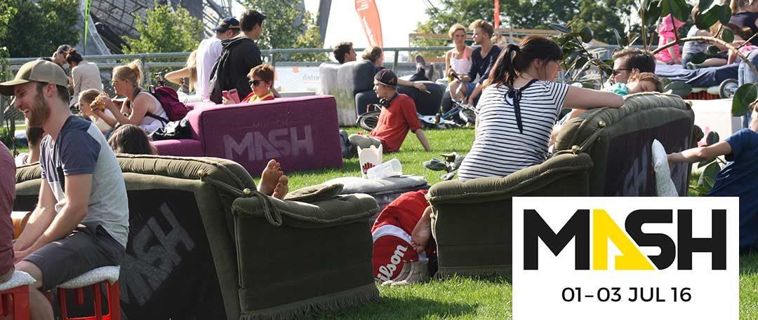 Wir hock'n das Munich Mash Festival!